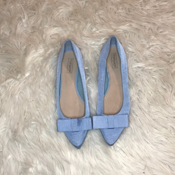 Topshop Shoes - NWT Top shop bow flats